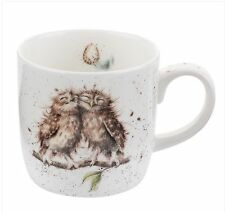 Royal Worcester Owl Birds of a Feather Fine Bone China Bird Mug Wrendale Designs