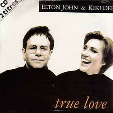 CD Single Elton JOHN & Kiki DEE True love CARD SLEEVE