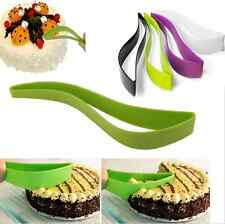 Plastic Slice Knife Wedding Cake Cutter Holder Server Party Clamp Baking Tools