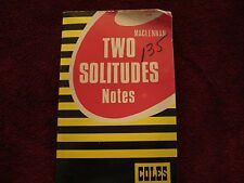 Vtg Two Solitudes by Maclennan Analytic Notes & Review by Coles Pub 1984