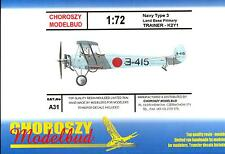 Choroszy Models 1/72 YOKOSUKA NAVY TYPE 3 K2Y1 Japanese Primary Trainer