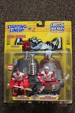 1998 Starting Lineup Classic Doubles MIKE VERNON and SERGEI FEDEROV