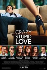 Crazy Stupid Love Double Sided Original Movie Poster 27x40 inches