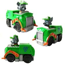 New Paw Patrol Pup Dog Racer Character Figure Kids Children's Toy Gift -Rocky