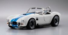 Kyosho 1/18 Shelby Cobra 427SC White W/ Blue Stripe Ref 08045W