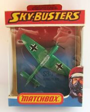 Matchbox Skybusters SB-7 Junkers 87D - Metallic Green - Mint/Boxed