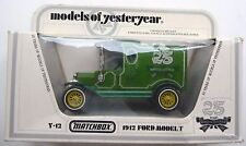 Matchbox Models of Yesteryear Y12 1912 Ford T van 25-years MoY 1956-1981