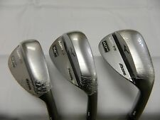 New 2016 Mizuno MP-T5 White Satin 52* 56* 60* Wedge Set 52.09 56.10 60.06 LB