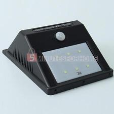 Faro per Esterni a 6 LED a Energia Solare con Sensore di Movimento Lampione