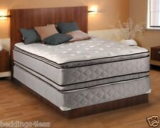 Hollywood Plush King Size Pillowtop Mattress and Box Spring Set