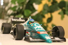 Formel 1 Modell Gerhard Berger 1/18 Benetton B186 BMW Turbo Sieg Mexico 86