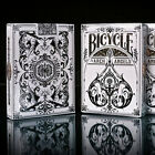 1 Deck Bicycle Arch Angels Standard Poker Playing Cards Black & White New Box