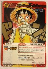 One Piece Miracle Battle Carddass Promo P OP 35 Luffy Straw Hat Pirates