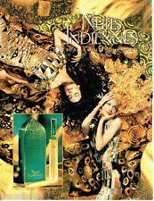 PUBLICITE ADVERTISING 106  1996  Les Nuits Indiennes parfum Jean-Louis Sherrer