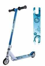 Blue Surfer Scooter 360 Degree Fixed Bar Steel Reinforced Forks 6061 Deck
