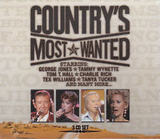 [NEW] 3CD: COUNTRY'S MOST WANTED: VARIOUS ARTISTS