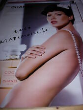 AFFICHE POSTER GEANT CHANEL ''COCO MADEMOUSELLE'' 2005    180x120  TBE NON PLIEE