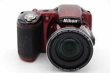 Nikon Coolpix L830 16.0MP 3'' Screen Digital Camera - RED