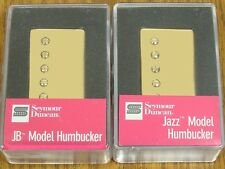 NEW Seymour Duncan JB Jazz Hot Rodded PICKUP SET Humbucker SH-4 SH-2n Gold