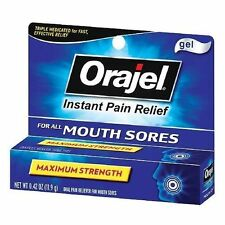Orajel Mouth Sore Medicine, Gel, 0.42oz 310310318055T416