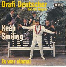 Drafi Deutscher - Keep Smiling / Es war einmal - DECCA19611 - DE 1964