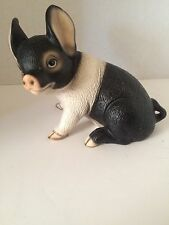 Collectible Hand Painted Ceramic Pig Figurine The Harvey Knox Kingdom Japan