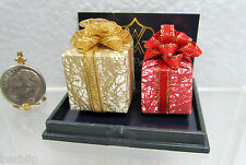 Dollhouse Miniature Christmas Gift or Present Set by Reutter