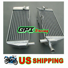FOR Honda CR125 CR 125R CR125R 2-stroke 1989 89 aluminum alloy radiator