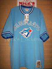 AUTHENTIC Mitchell & Ness 87 Toronto Blue Jays Cecil Fielder Throwback Jersey 52