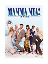 MAMMA MIA! THE MOVIE (MUSICAL) GENUINE R2 DVD MERYL STREEP (ABBA) NEW/SEALED