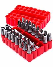 "Tamper Proof Security Screw Hex Bit Head Set 1/4"" drive (33 pc)"