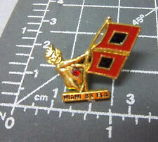 ROYAL ORDER OF JESTERS lapel pin, Miami Florida w flag, court 88