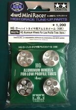 TAMIYA 4WD Mini Racer HIGH GRADE Aluminum Wheels For Low Profile Tires 95276 4X4