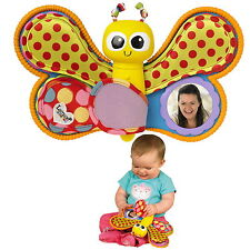Baby Spielzeug Lamaze Schmetterling Fotorahmen Sprachaufnahme ab 6 Monate neu