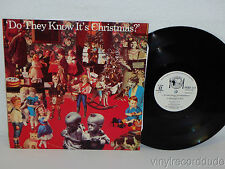 "BAND-AID Do They Know It's Christmas? UK FEED 112 ORIGINAL 12"" David Bowie, Bono"
