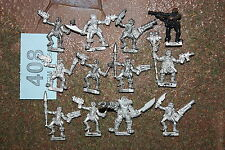 GORKAMORKA DIGGANOB DIGGA GANG X 12 COMPLETE HEAVY LEADER Games Workshop 408