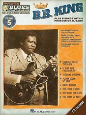 B.B. King: Blues Play-Along Volume 5 (Hal Leonard Blues Play-Along), B.B. King,