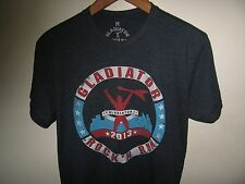 Gladiator Rock N Run Tee - 2013 Dan Nitro Clark Obstacle Course Race T Shirt Med