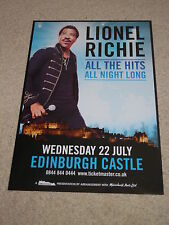 Lionel Richie - CONCERT POSTER - live music show gig tour poster
