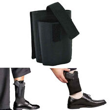 Concealed Elastic Black Ankle Gun Holster For LCP LC9 PF9 22 25 380 9mm 40s 45s