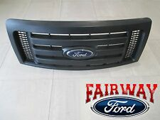 09 thru 14 F-150 OEM Genuine Ford Parts XL Model Black Grille Grill w/Emblem NEW