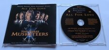 The Three Musketeers - All for Love - Bryan Adams,Rod Stewart,Sting MCD Maxi CD