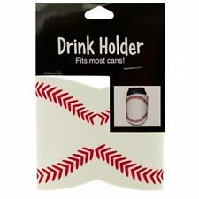 2 CAN DRINK BEER HOLDER KOOZIE BASEBALL Fast FREE US Shipping
