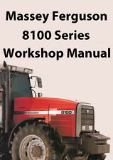 MASSEY FERGUSON Tractor Workshop Manual: 8100 Series