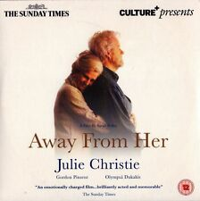 AWAY FROM HER stars JULIE CHRISTIE = PROMO VGC