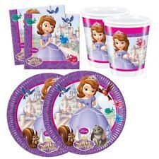 Disney Princess - Sofia die Erste - Set Party Teller Becher Servietten
