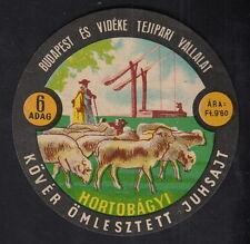 Ancienne  étiquette Fromage  Hongrie  BN10349 Berge Mouton 6