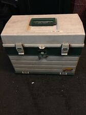 Vintage PLANO 787  Four Drawer Tackle Box - Used condition