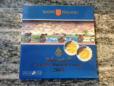 SERIE DIVISIONALE SET II 2005 FINLANDIA FINNLAND FINLAND FINLANDE FDC KMS UNC