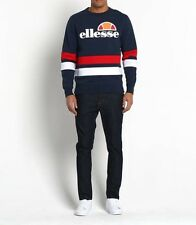 Ellesse Men's Sweatshirt - Puccini - Small -  Navy Red White - RRP £55 - SALE